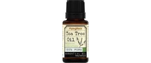 健康产品:Piping Rock Tea Tree Oil 0.5-oz. Bottle