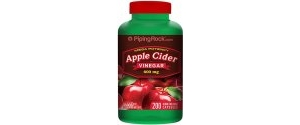 健康产品:Piping Rock Apple Cider Vinegar 200ct Bottle