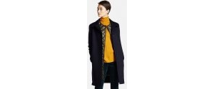名牌服装:Uniqlo Women's Cashmere Stand Collar Coat