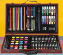 办公用品:101-Piece Art Supply Set w/ Wooden Case