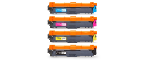 4 Jarbo Brother-Compatible Ink Cartridges