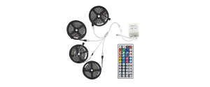 65-Foot 600-LED RGB Strip Lights with Remote